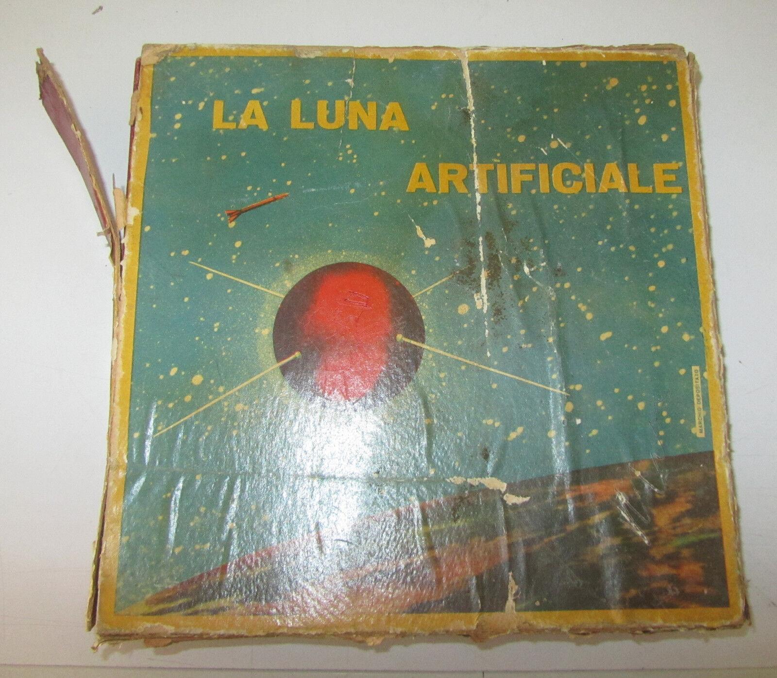 La Luna Artificiale Board Game Gioco Da Tavolo In Scatola Tavolo RARISSIMO