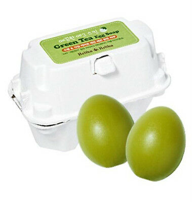 [Holika Holika] Egg Soap GREEN TEA 50g*2ea