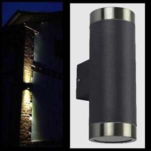 Häufig Außenleuchte anthrazit Wandleuchte IP44 Leuchte Lampe außen LG38