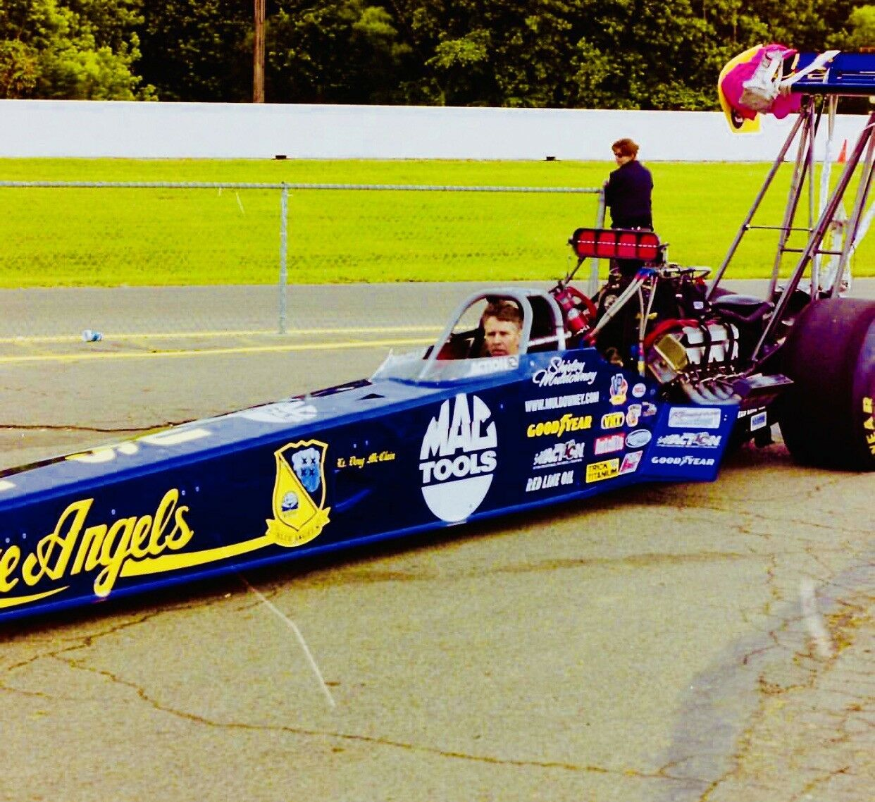 """NHRA Shirley Muldowney 1 24 24 24 Diecast blueE ANGELS Top Fuel Dragster NITRO """"Rare"""" e01697"""
