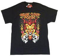 Insane Clown Posse Bring It On Joker Black T Shirt Official Icp Merch