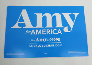 Amy-Klobuchar-For-President-2020-Official-Campaign-Rally-Sign-Poster-C
