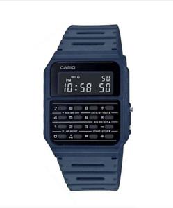 Casio-CA-53WF-2B-Navy-Blue-Calculator-Resin-Watch-for-Men-and-Women