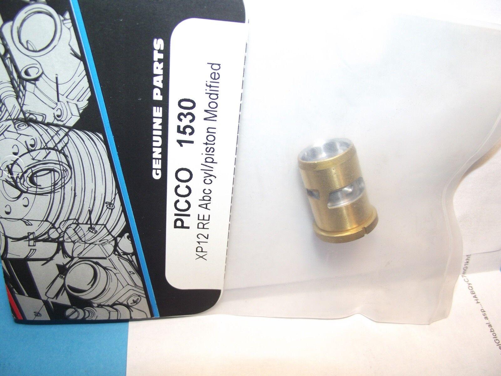 Picco 1530 Abc XP12 RE Cyl  PISTONE MODIFICATO  vendite online