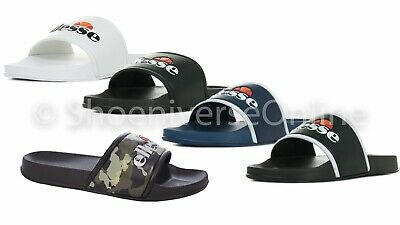 Ellesse Mens Slides Sandals Summer Beach Pool Gym Slip On White Black Blue Camo Ideales Geschenk FüR Alle Gelegenheiten