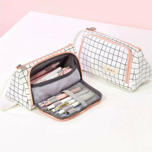 Pencil-Case-Large-Capacity-Multifunction-Pen-Box-School-Stationery-Cosmetic-Bags