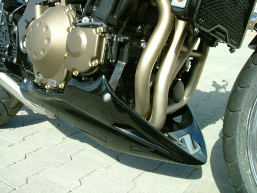 Haltesatz Belly Pan sabot moteur Bugspoiler Z750 /'03-/'06 unlackiert inkl