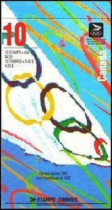 CF1120-Canada-1992-Booklet-Juegos-Olimpicos-UNC
