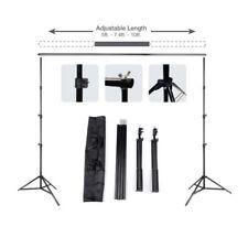 10ft Adjustable Backdrop Support Stand Photo Photography Background Crossbar Set 10 FT