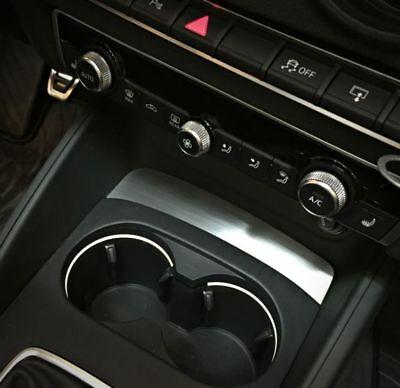 Audi A3 S3 RS3 Sportback Cabrio 8V Becherhalter vorne Ablage Dekoreinlage