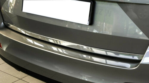 Heckklappe Leiste aus Edelstahl V2A Poliert für Seat Tarraco 2018