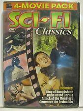 Sci-Fi Classics 4 Movie Pack - Vol. 2 (DVD, 2005)