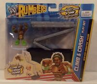 Wwe Mattel Rumblers Ring Climb & Crash Playset With Kofi Kingston Day Misp
