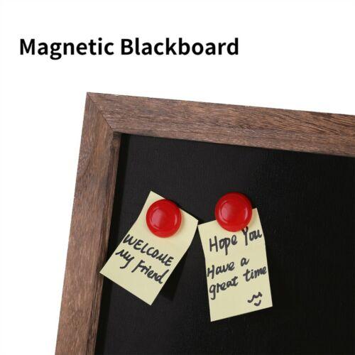 Magnetische Kreidetafel Schreibtafel Schiefertafel Dekotafel Notiztafel Schwarz