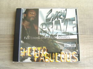 hiphop-CD-rap-ATLANTA-self-release-UNDERGROUND-indie-CRAZY-CRAZE-Ghetto-Fabulous