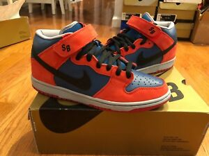 check out 18f01 fa27d Image is loading NIKE-2008-Dunk-Mid-Pro-SB-Spider-man-