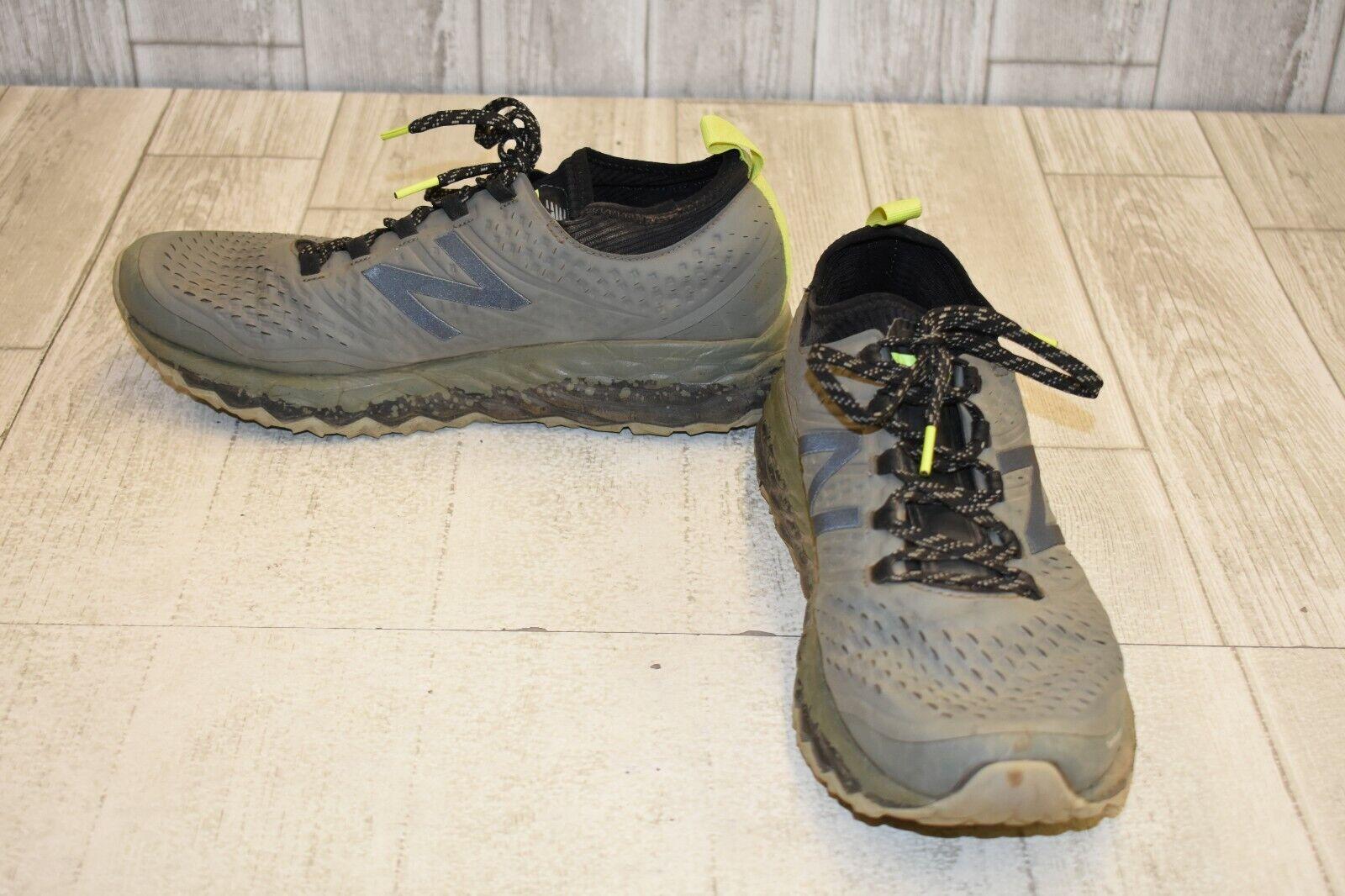 New Balance Fresh Foam Hierro v3 Trail Running shoes, Men's Size 11.5-2E, Grey