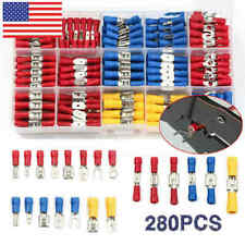 New Listing280pcs Assorted Crimp Spade Terminal Insulated Electrical Wire Connector Kit Set