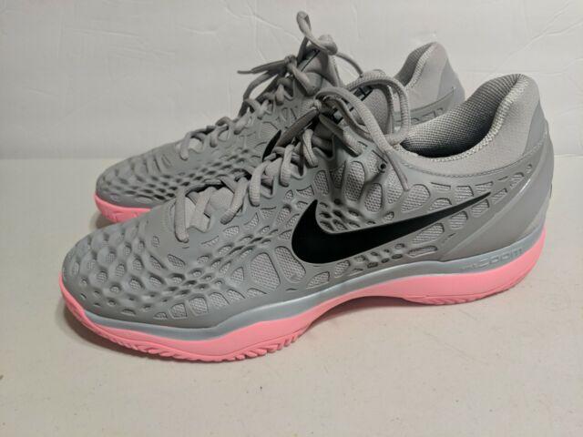 Nike Air Zoom Cage 3 Hc Grey Rafael Nadal Men Tennis Shoes Sz 9 5 918193 013 For Sale Online Ebay