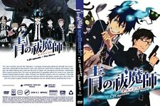 Ao No Blue Exorcist (Chapter 1 - 25 End + Moive) ~ 2-DVD SET ~ English Version ~