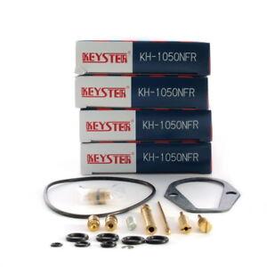Honda-CB-500-Four-K0-K2-4-x-Keyster-Vergaser-Reparatursatz-Set-Carburetor-Kits