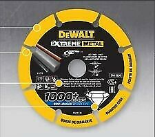 TAGLI DT4025 DEWALT EXTREME METAL DISCO DA TAGLIO DIAMANTATO PER METALLO 1000