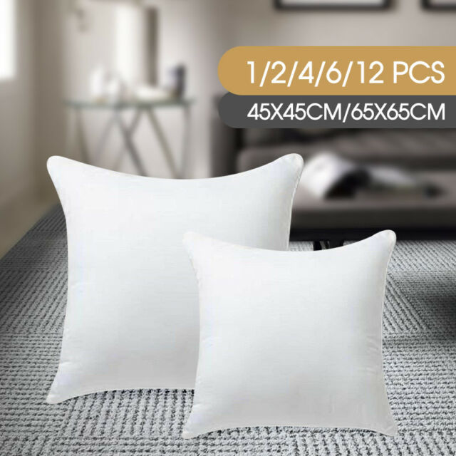 12 sizes EASYREST Australian Made Cushion Inserts Premium Polyester Filled