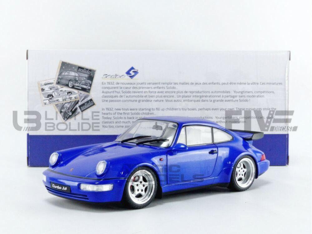 Bburago 59000 Porsche 911 Turbo 2006 Blue Scale 1:64 Model Car New !°