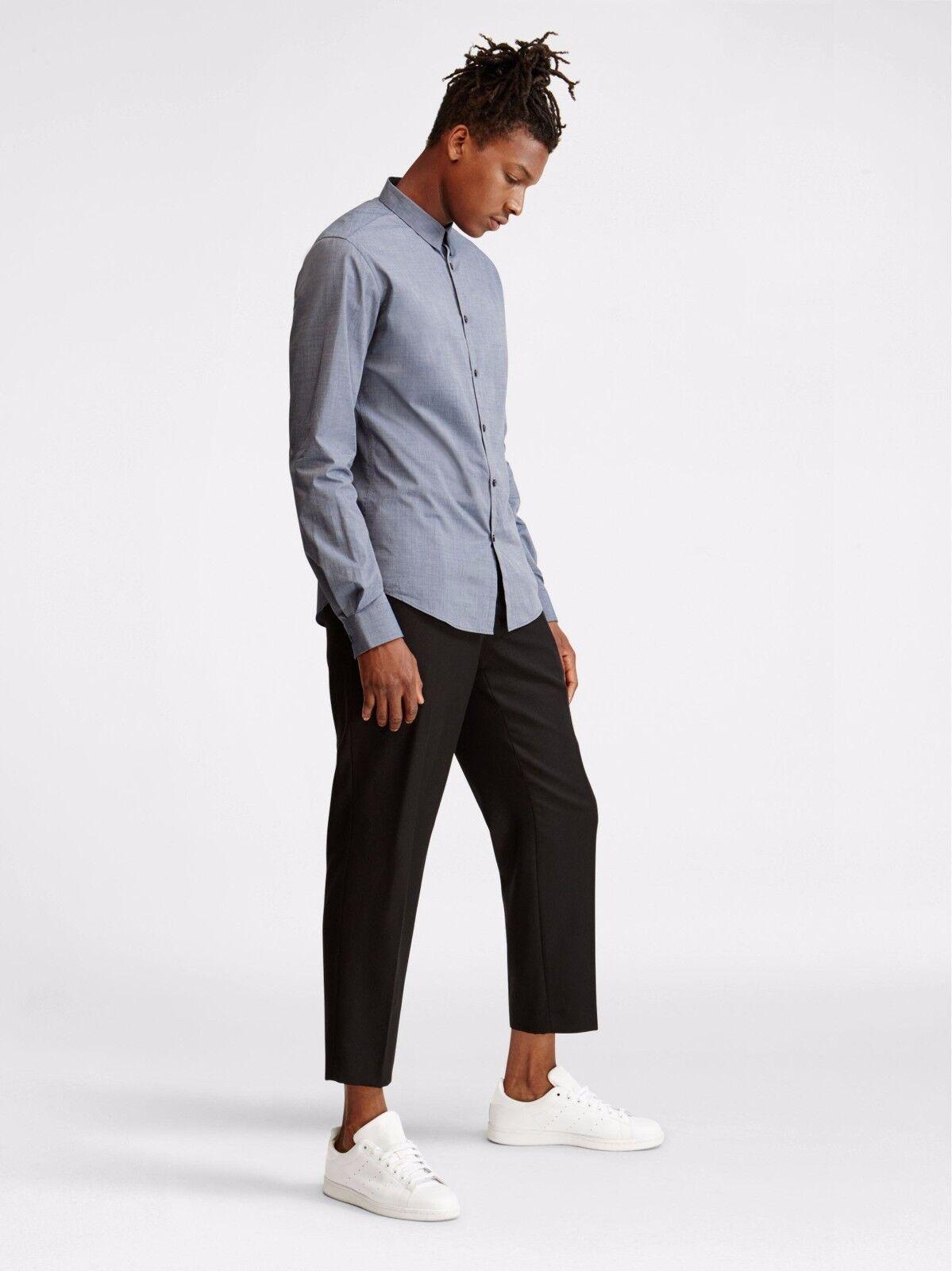 Herren DKNY True Blau CollaROT Shirt XL   CS074 03 O