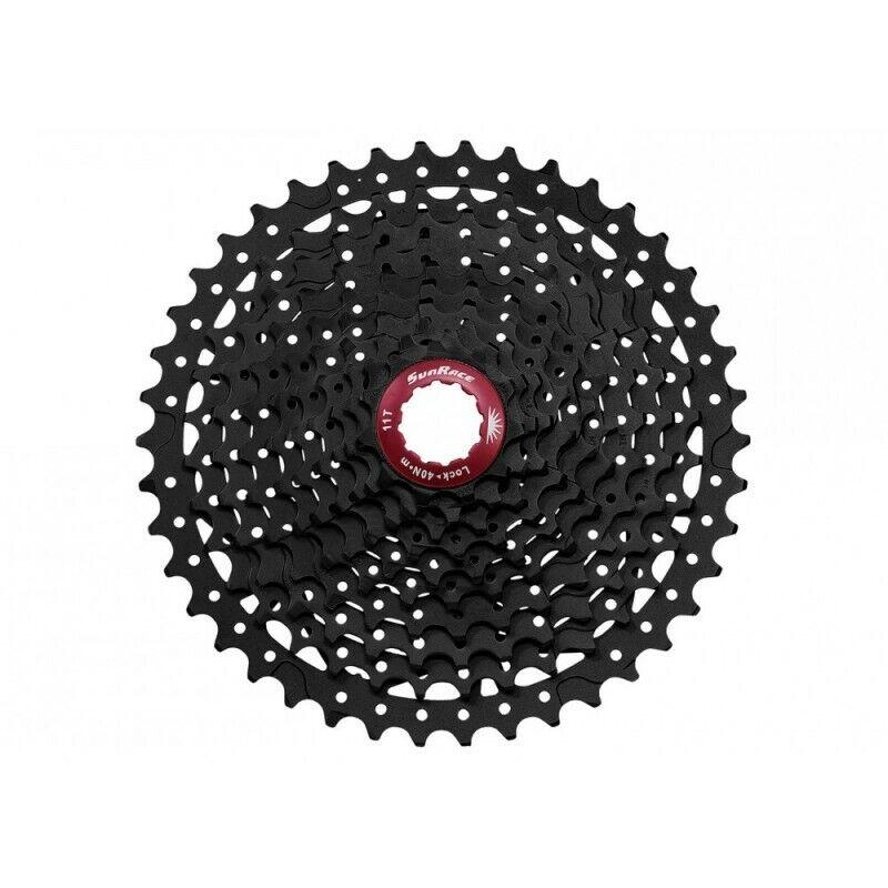 SunRace Pacco pignoni CSMX3 10velocità 1146  nero