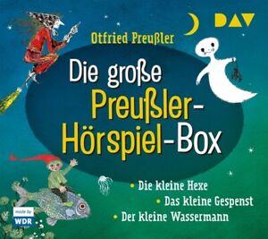 OTFRIED-PREUssLER-DIE-GROssE-PREUssLER-HORSPIEL-BOX-DIE-KLEINE-HEXE-6-CD-NEU