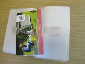 Replacement Credit Card Holder Plastic Sleeves inserts for Portrait 10 Slot