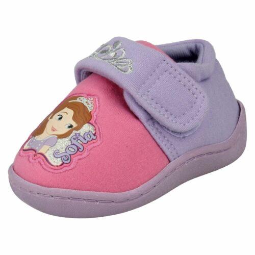 Girls Disney Slippers Sofia Crown Side