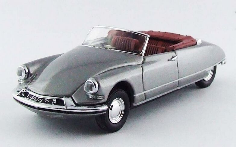 Rio 4481-citroen ds cabriolet metallic gris -  1961 1 43  sortie