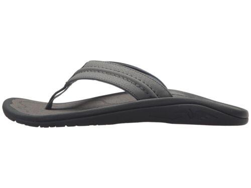 Men/'s Shoes OluKai HOKUA Water Resistant Sandals 10161-2626 CHARCOAL
