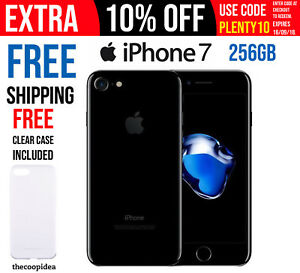 Apple-iPhone-7-256GB-Jet-Black-A1778-Free-Shipping