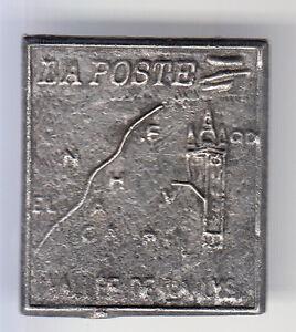 RARE-BIG-PINS-PIN-039-S-PTT-LA-POSTE-ESSAI-ETAIN-VALLEE-DE-LA-LYS-59-62-BS