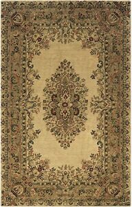 Image Is Loading Rizzy Rugs Shine In Beige 10x14 Wool New