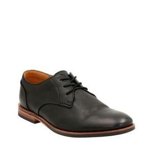 Clarks Broyd Walk Black Leather Men