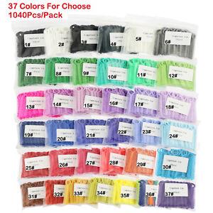 1Pack-1040Pcs-Dental-Orthodontic-Ligature-ties-Elastic-Rubber-Bands-37-Colors