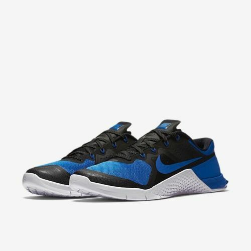 Nike Metcon 2 AMP-X.. WOMEN BLACK/BLUE.. MEN 8.5 or WOMEN AMP-X.. 10.. SHIPS FAST!! f15fe2