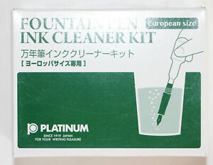Platinum-Fountain-Pen-Ink-Cleaning-Set-LOT-of-2-sets