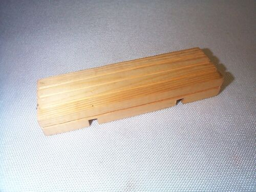 Lionel 651 831 2651 Wood Block Prewar Tinplate Flatcar Load Part EXCELLENT!