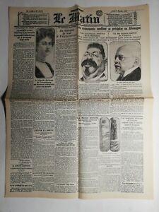 N453-La-Une-Du-Journal-Le-Matin-6-janvier-1919-on-manque-de-tout-a-Valenciennes