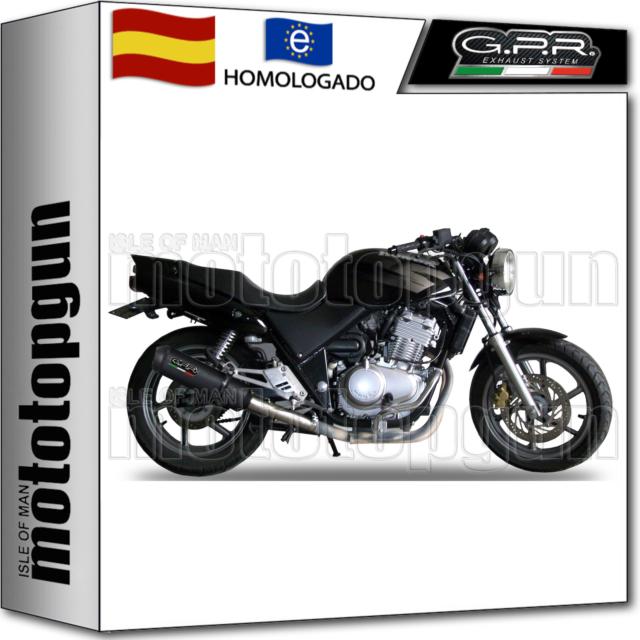 GPR TUBO DE ESCAPE HOM GHISA HONDA CB 500 - S 2005 05