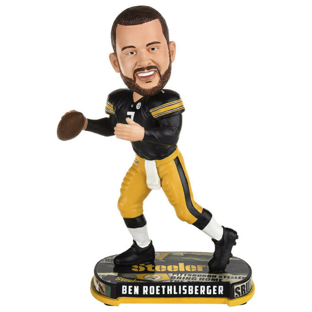 8b842a6932c Ben Roethlisberger Pittsburgh Steelers Bobblehead Forever Collectibles NFL  Foco