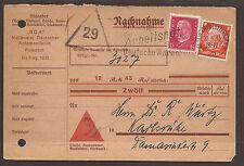 La Germania. 1933. automobile CLUB. il contrassegno card.