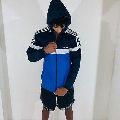 Suburbio Entrada Vacilar  Rare Adidas Originals Men's Adidas Itasca Reversible Jacket Nylon Cal Surf  Small   eBay
