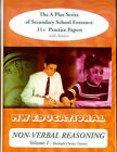 Non-verbal Reasoning: Secondary School Entrance 11+ Practice Papers: v.1: Multiple Choice Format: With Answers by Mark Chatterton (Paperback, 2003)