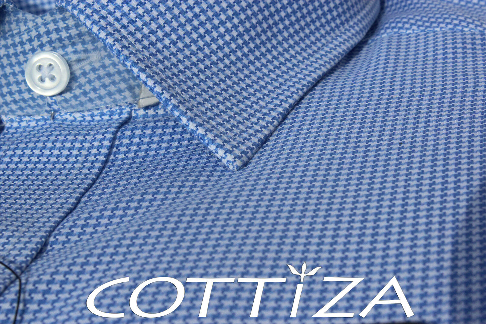 COTTIZA - 2 Ply 100% Egyptian Cotton Geschäft Formal Dress Shirt